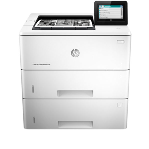 HP, LaserJet, Enterprise, M506X, Mono, A4, Laser, Printer,