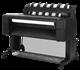 HP, Designjet, T930, 36, A0, 6-Colour, Postscript, Printer,