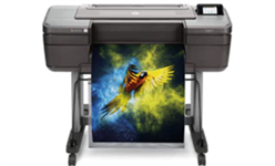 HP, Designjet, Z9plus, A1, 24, 9, ink, PostScript, Printer,