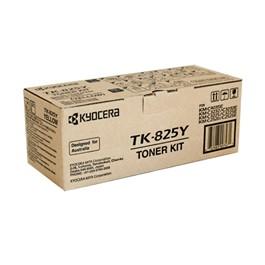 Kyocera, TK-825Y, Toner, Kit, -, Yellow,
