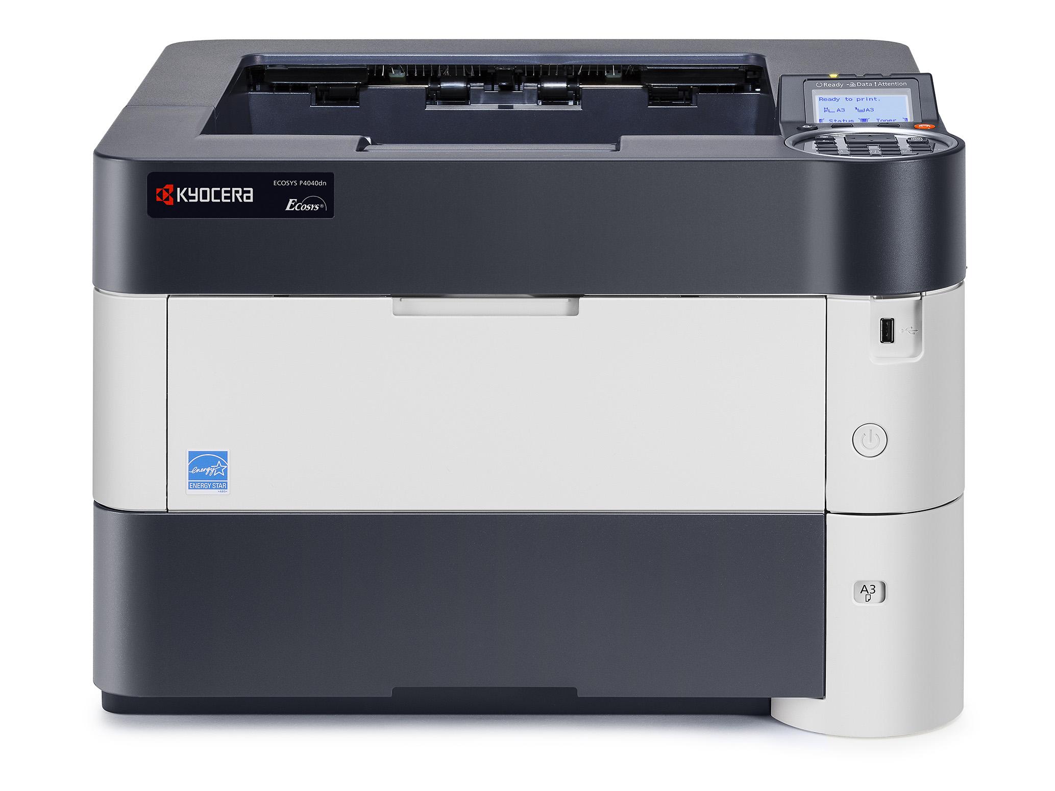 Kyocera, ECOSYS, P4040DN, A3, 22ppm, A4, 40ppm, Mono, Laser, Printer,