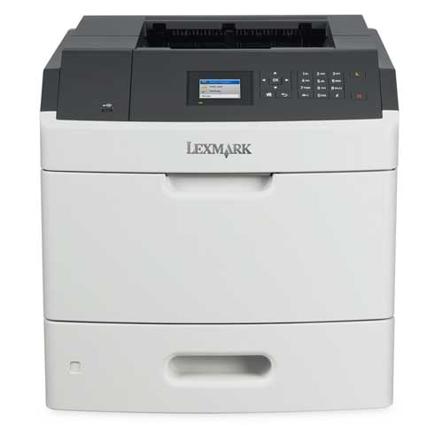 Lexmark, MS810dn, Mono, Laser, Printer,