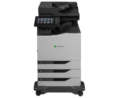 Lexmark, CX825DTE, A4, 52ppm, Colour, Multifunction, Laser,