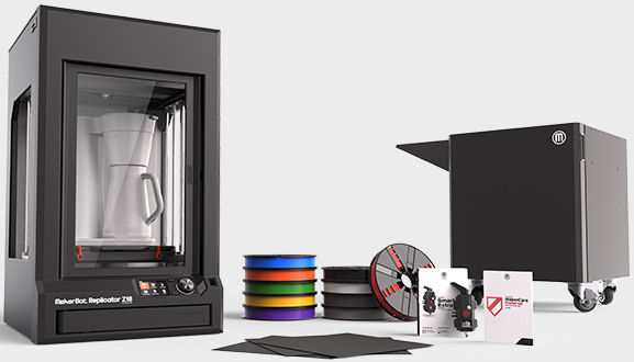 Makerbot, Z18, Replicator, Essentials, Pack,