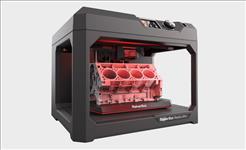 MakerBot, MP07825, Replicator, plus, Desktop, 3D, Printer,