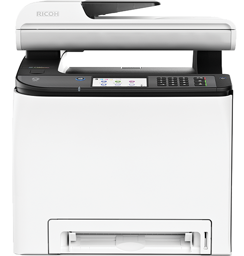 Ricoh, SPC262SFNW, A4, 20ppm, Colour, WiFi, Laser, Multifunction,