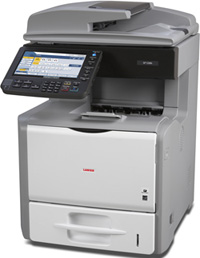 Ricoh, SP5200S, A4, Mono, 45ppm, LAN, 550, Sheet, Duplex, Laser, Printer, MFP,