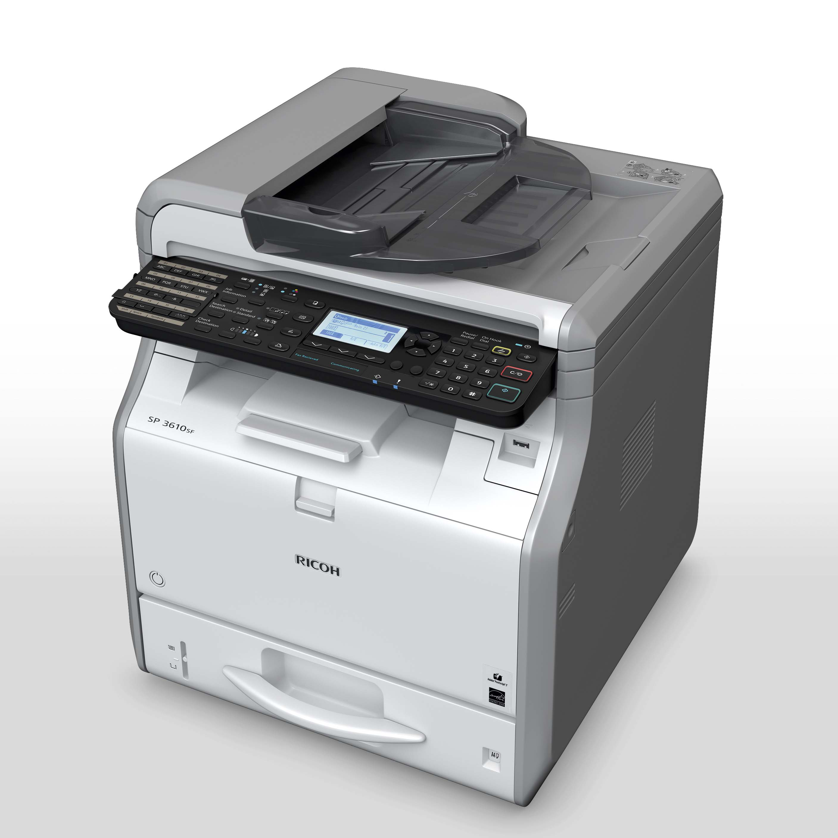 Ricoh, SP, 3610SF, A4, LED, MFP, 30ppm, Laser, Printer,