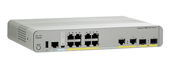 Cisco, (WS-C2960CX-8PC-L), Catalyst, 2960-CX, 8, PORT, POE, LAN, BASE,