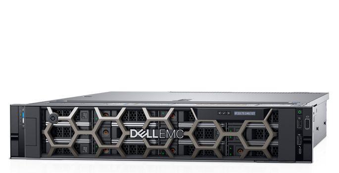 DELL, R540, 2U, BRONZE-3106(1/2), 8GB(1/16), 1TB, SAS, 3.5(1/8), 495W(1/2), H740P, 3, year, NBD,