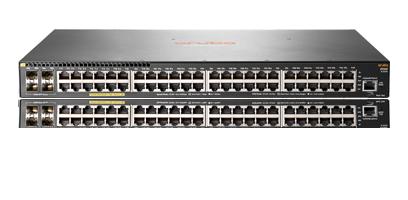 HP, Enterprise, ARUBA, 2930F, 48G, PoE+, 4SFP, SWITCH,