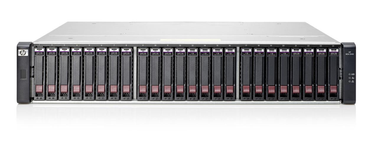 HP, Enterprise, MSA, 1040, 2Prt, 1, GB, iSCSI, DC, SFF, Strg,