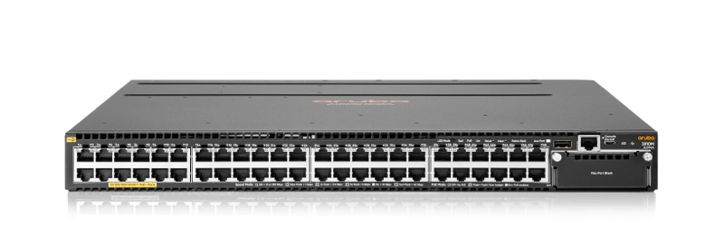 HP, Enterprise, ARUBA, 3810M, 48G, POE+, 1-SLOT, SWCH,