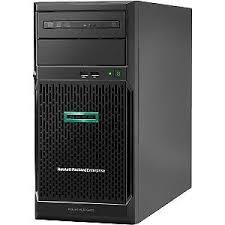 HP, Enterprise, E, ML30, Gen10, E-2134, 1P, 16GB, Solution, Server,