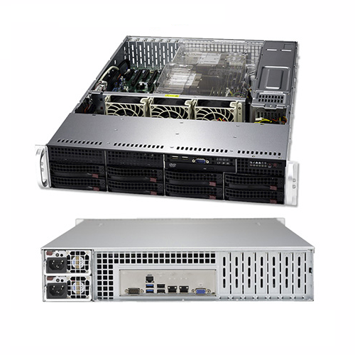 BizCor, 2RU, Server, Silver, 4110, 32GB, RAM, 1, x, 2.5, 240GB, SDD, 8, x, 3.5, HS, Disk, Bays, RPS, 3, Year, NBD, warranty,
