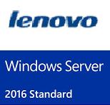 Lenovo, Windows, Server, 2016, Standard, ROK, (24, CORE),