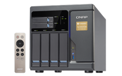 QNAP, TVS-682T-I3-8G, Network, Attached, Storage, 4+2+2XM.2, SLOT(DISKLESS), 8GB, I3-6100, T-BOLT, GbE(4), 10G-T, Tower, 2YR,