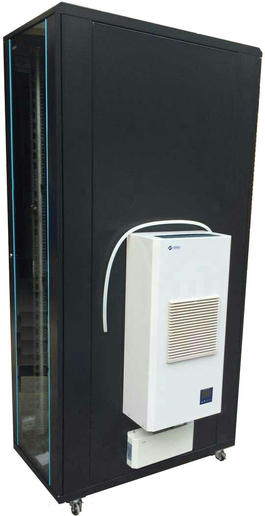 SG, Professional, AC, Series, Air, Condirtioned, Rack, 27U, with, 10000BTU, AC,