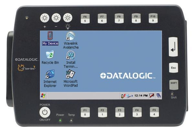 Datalogic, R, SERIES-12, 802.11, 128MB, CE, 5.0,