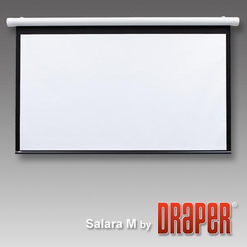 Draper, Motorised, IR, Salara/Plug, and, Play, 120, 4:3, 1750X2340mm, Matt, White,