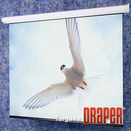 Draper, Motorised, incl, LV, control, switch, Targa, 200, 4:3, 3000X4010mm, Matt, White,