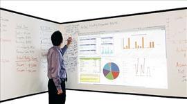Elite, Screens, INSTA-DE2, Whiteboard, Roll, -, Matt, No, Backing-3.048x1.3m,