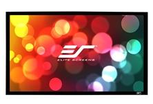 Elite, Screens, 92, Fixed, Frame, 16:9, Sable, Frame, Projector, Screen, 6Cm, Black, Velvet, Border,