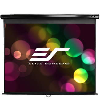 Elite, Screens, M120UWH2, 120, (2.65m, wide), 16:9, Manual, Pull, Down, Screen, with, BLACK, case,