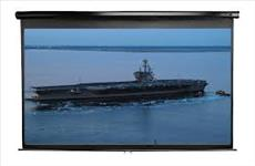 Elite, Screens, M135UWH2, 135, (3m, wide), 16:9, Manual, Pull, Down, Screen, with, BLACK, case,