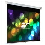 Elite, Screens, PRO, 84, (1.85m, wide), 16:10, Manual, Pull, Down, Screen, with, SLOW, RETRACTION, and, WHITE, Case,