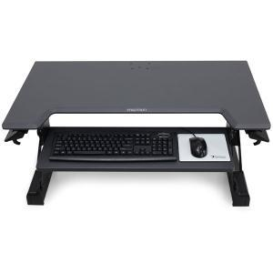 Ergotron, WORKFIT, TL, BLACK, SIT, STAND, TABLETOP,