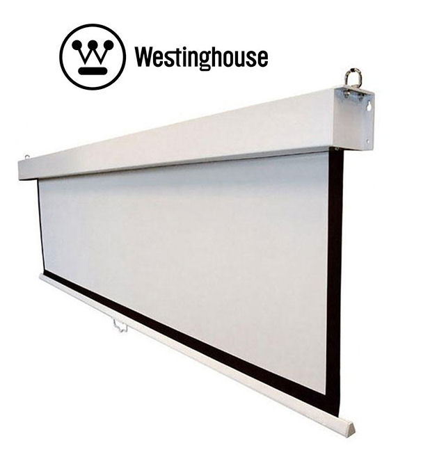 Westinghouse, WHSCR100PULL, 100, 16:9, Pull, Down, Screen,