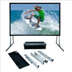 SG, Audio, Visual, FF, Series, 3m, wide, (135, ), Portable, Fast-Fold, Projector, Screen, with, Front, and, Rear, Surfaces, (16:10),