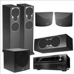 Onkyo, TX-NR626, +, Mission, MX4, 5.1, Speaker, Package,