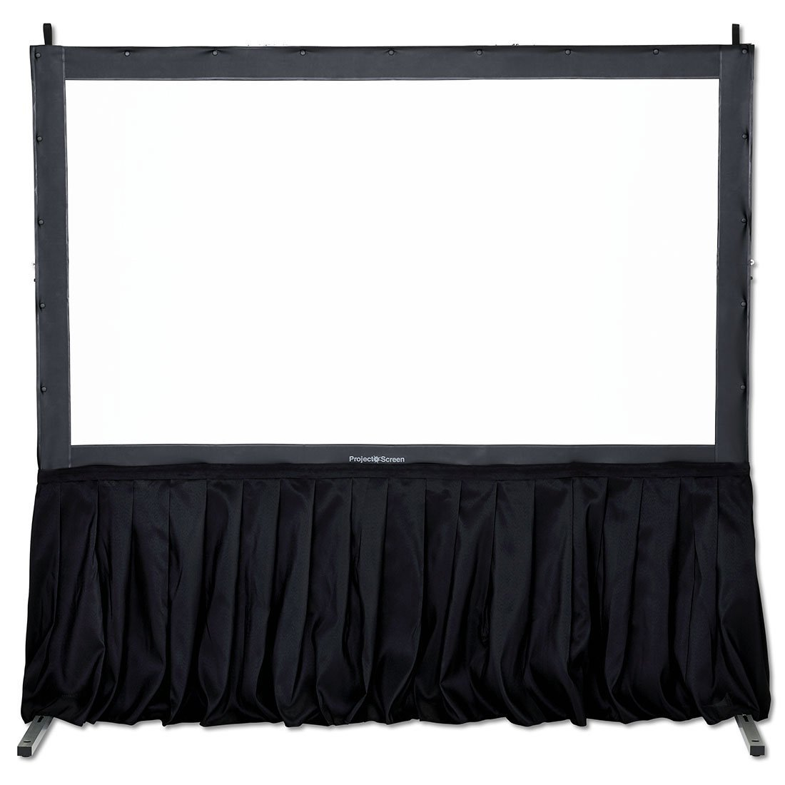 SGAV, Black, Skirt, kit, for, 2m, -, 4m, wide, Fastfold, Screens,