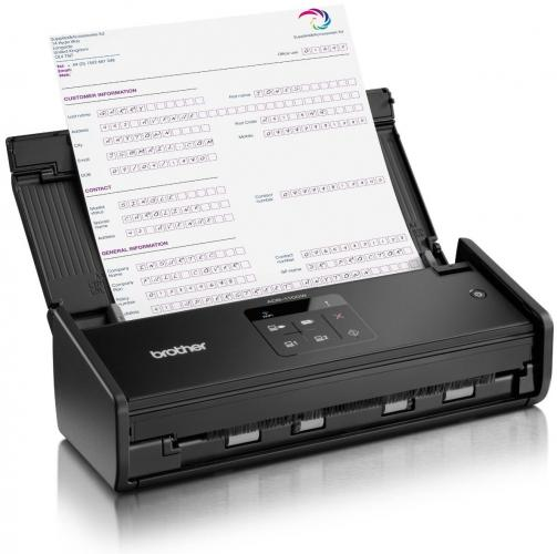 Brother, ADS-1100W, COMPACT, DOCUMENT, SCANNER, WITH, WIFI,