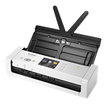 Brother, ADS-1700W, 25ppm, WiFi, 25ppm, Compact, A4, Document, Scanner,
