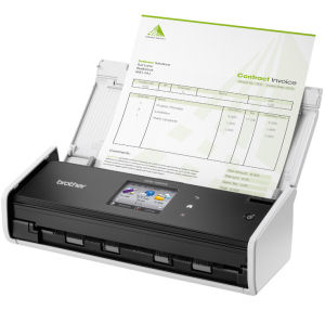 Brother, ADS-1600W, COMPACT, DOCUMENT, SCANNER, WITH, WIFI,