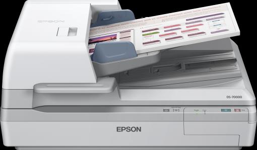 Epson, DS-70000, DUPLEX, 70PPM, HIGH, VOLUME, A3, SCANNER, 200, SHEET, ADF, &, FLATBED,