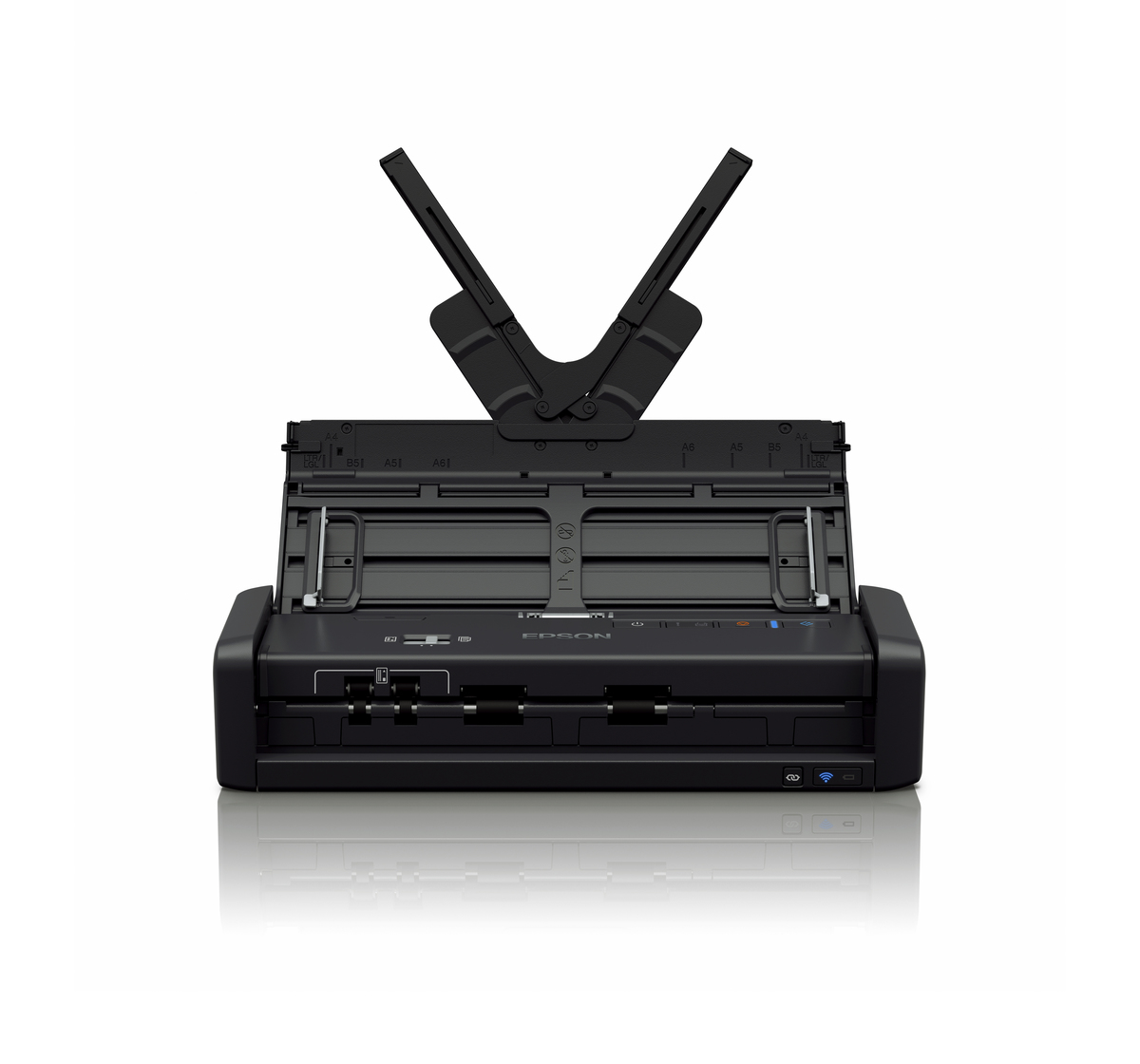 Epson, WorkForce, DS-360W, Wi-Fi, Portable, Sheet-fed, Document, Scanner,