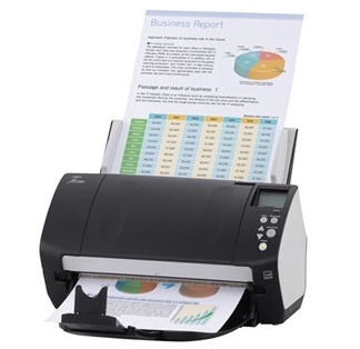 Fujitsu, FI-7160, A4, 60ppm, Duplex, Document, Scanner,