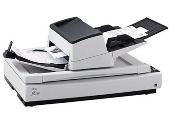Fujitsu, FI-7700, A3, 100ppm, Duplex, Document, Scanner, with, Flatbed,