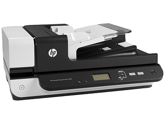 A4 Document and Flatbed/Hewlett-Packard: HP, Scanjet, 7500, A4, 50ppm, Duplex, Flatbed, and, ADF, Scanner,