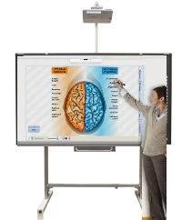 Hitachi, LINKEZ2, 90, Bright, Interactive, Teamboard, Portable, HD, Bundle,