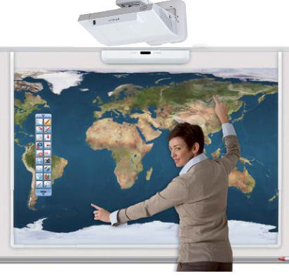 Hitachi, LINKEZ2, 90, Bright, Interactive, Teamboard, HD, Bundle,