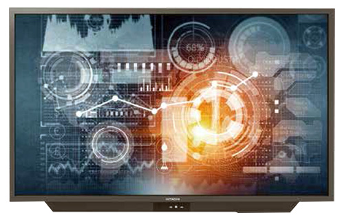 Hitachi, 75, Interactive, Flat, Panel, Display, 3840, x, 2160, (UHD), 20, points, of, touch,