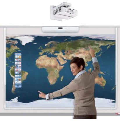 Hitachi, LINKEZ2, 90, Lampless, LED, Interactive, Teamboard, Bundle,