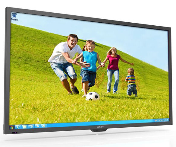Hitachi, 65, 10, HD, Point, Touch, Interactive, LED, Panel,