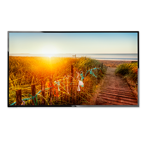 """NEC, 43"""", E436, LED, Display/, 12/7, Usage/, 16:9/, 1920, x, 1080/, 1200:1/, S-IPS, Panel/, VGA, Component, HDMI/, Speakers,"""