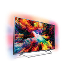 "Philips, 7300, series, 126, cm, (50""), 4K, Ultra, Slim, TV, powered, by, Android, TV, with, Ambilight, 3-sided, Quad, Core, 16GB, D,"